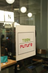 Teen Future logo display